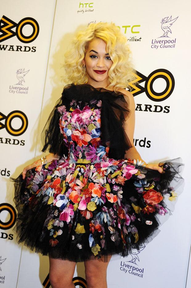 Rita Ora in McQ Alexander McQueen