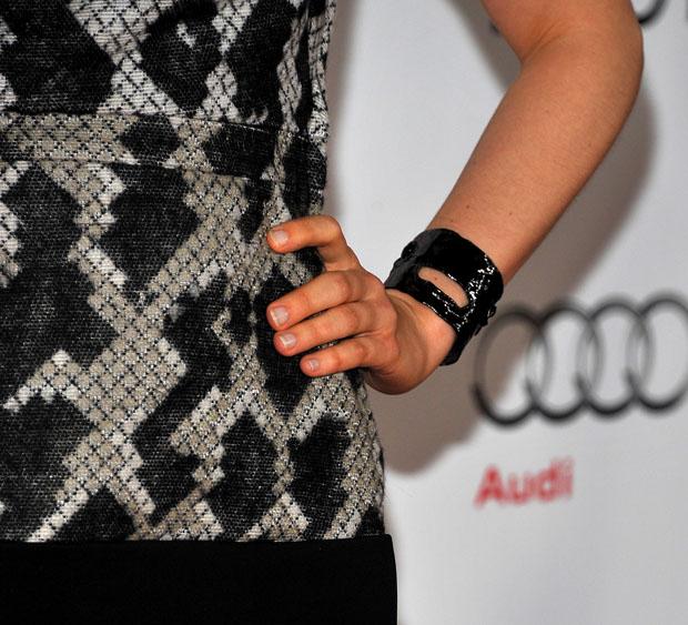 Bella Heathcote's cuff