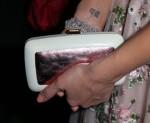 Jessica Alba's Roger Vivier clutch