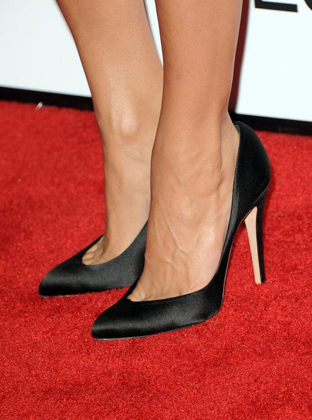 Eva Mendes' Brian Atwood pumps