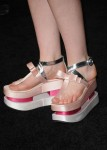 Elle  Fanning's Prada shoes