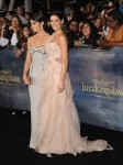 Nikki Reed in Versace and Ashley Greene in Donna Karan Atelier