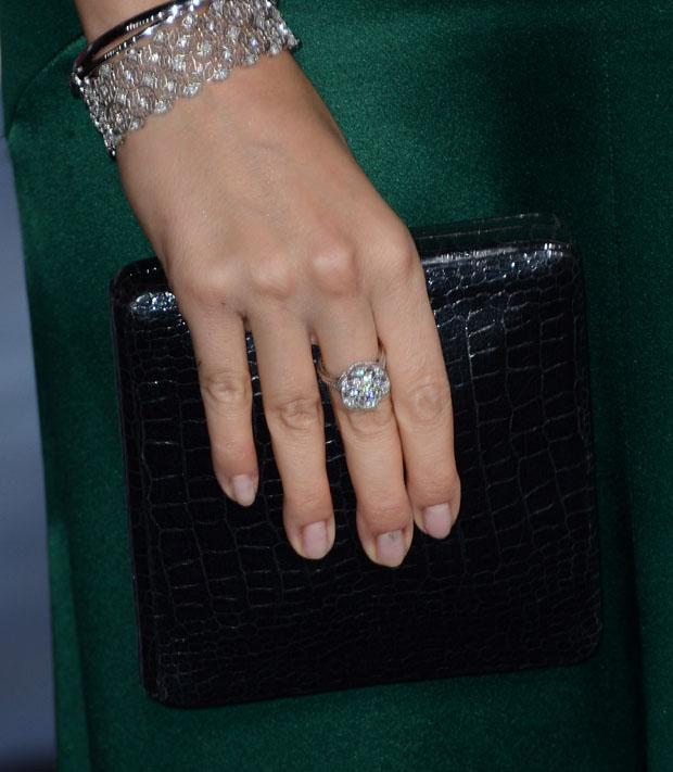 Maggie Grace's Lauren Merkin clutch