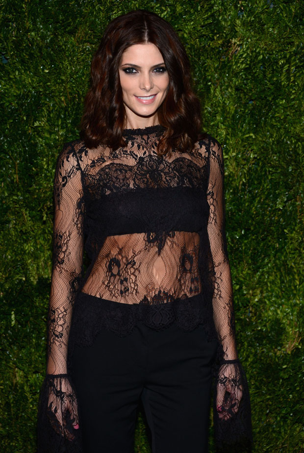 Ashley Greene in Wes Gordon
