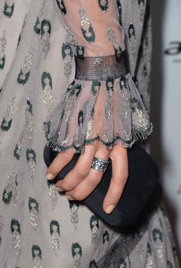 Alicia Vikander's Kotur clutch
