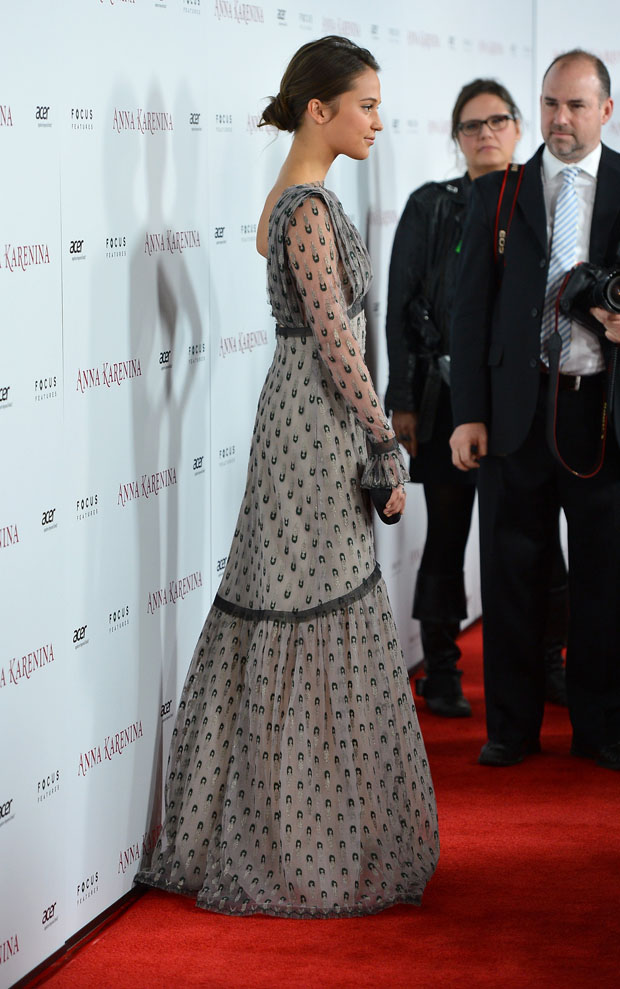 Alicia Vikander in Rodarte