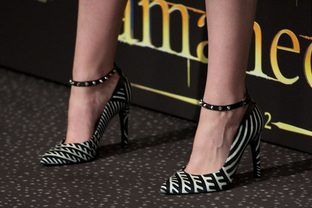 Kristen Stewart's Barbara Bui pumps
