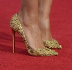 Heidi Klum's Christian Louboutin for Alexandre Vauthier Couture pumps