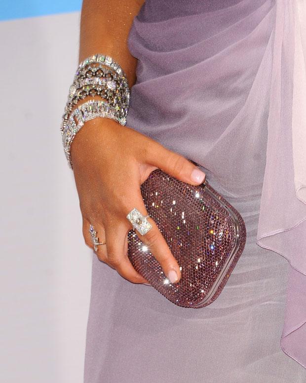 Christina Aguilera's clutch