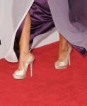 Christina Aguilera's Jimmy Choo heels