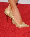 Stacy Keibler's Jimmy Choo pumps