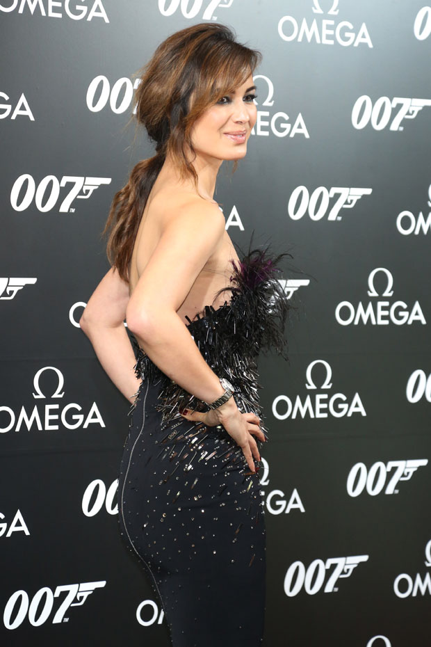 Berenice Marlohe in Julien Macdonald