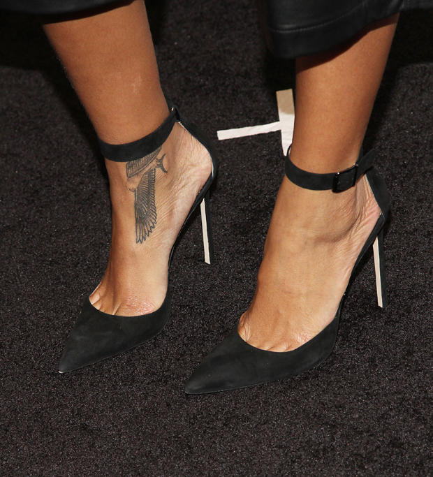 Rihanna's Manolo Blahnik shoes
