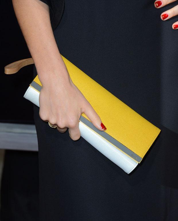 Jessica Biel's Fendi clutch