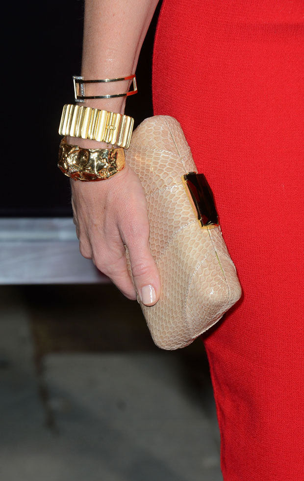 Toni Collette's clutch