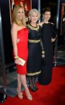 Toni Collette in Alex Perry, Helen Mirren in Dolce & Gabbana and Jessica Biel in Guccii