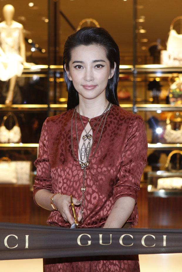 Li Bingbing in Gucci