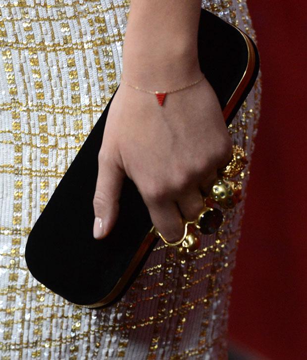 Olivia Wilde's Alexander McQueen clutch