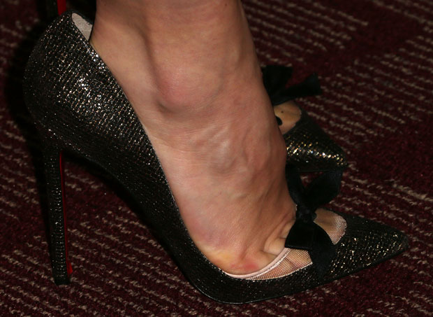 Olivia Wilde's Christian Louboutin pumps