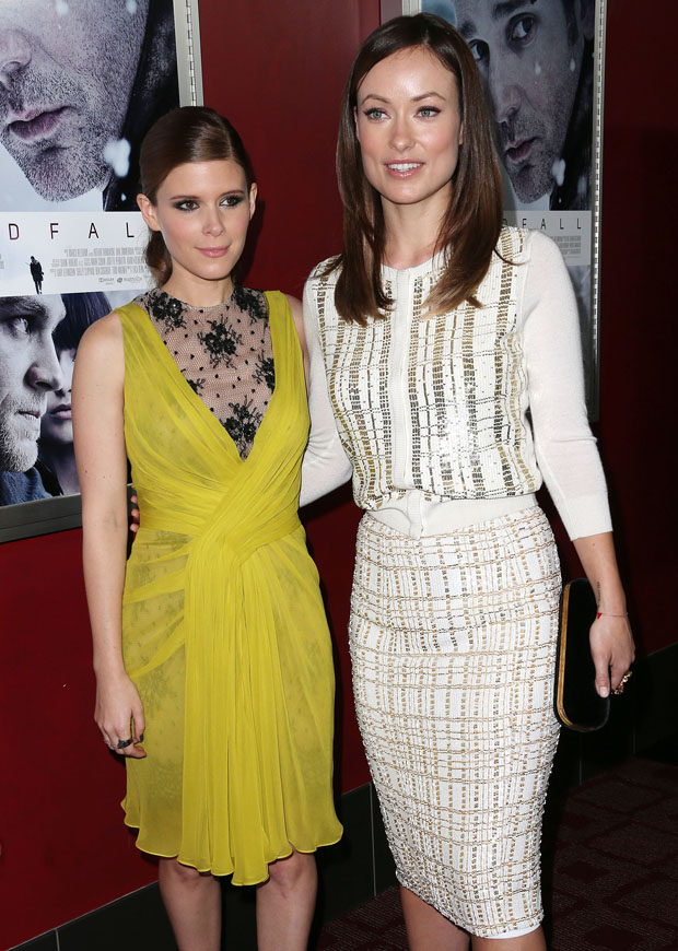 Kate Mara in Jason Wu  and Olivia Wilde in L'Wren Scott
