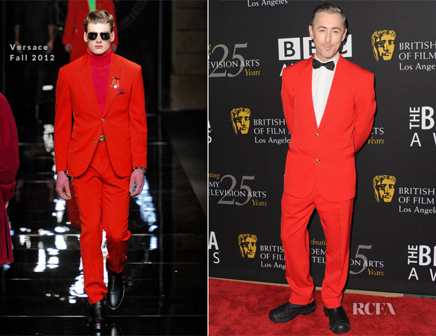 Alan Cummings In Versace - 2012 BAFTA Los Angeles Britannia Awards