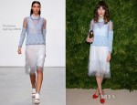 Alexa Chung In Thakoon - 2012 CFDA/Vogue Fashion Fund Awards