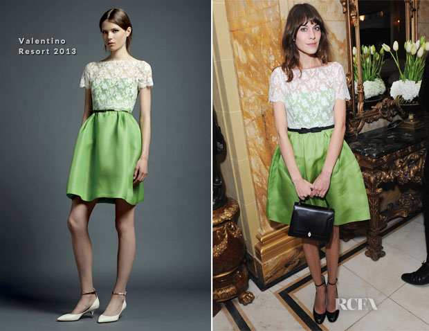 7c11d1dd3157 Alexa Chung In Valentino - the-miumiu-london - Red Carpet Fashion Awards