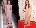 Allison Williams  In Valentino - 2012 Gotham Independent Film Awards