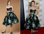 Amy Adams In Dolce & Gabbana - 'On The Road' AFI Fest Premiere