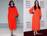 Andrea Riseborough In Roksanda Ilincic - 2012 British Fashion Awards