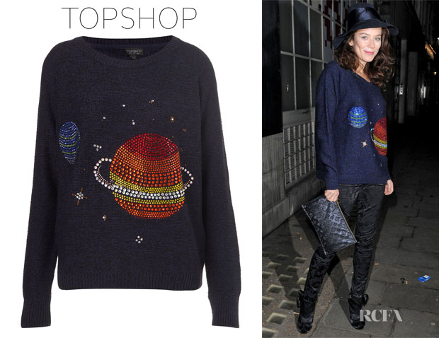Anna Friel Topshop Sweater