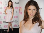 Anna Kendrick In Halston Heritage  - Independent Spirit Awards Nominations Announcement