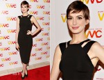 Anne Hathaway In Victoria Beckham - 2012 Women's Media Awards