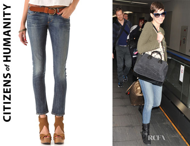 Anne Hathaway's Citizens of Humanity Racer Skinny Jeans