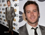 Armie Hammer In Gucci - GQ Men of the Year Party