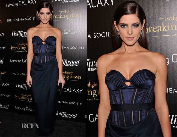 Ashley Greene In Donna Karan Atelier - 'The Twilight Saga Breaking Dawn Part 2′ New York Premiere