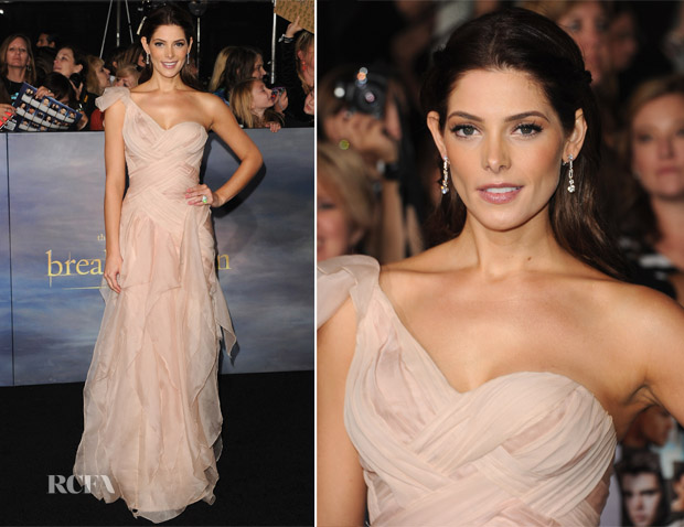 Ashley Greene In Donna Karan Atelier  - 'The Twilight Saga Breaking Dawn - Part 2' LA Premiere