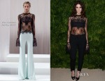 Ashley Greene In Wes Gordon - 2012 CFDA/Vogue Fashion Fund Awards