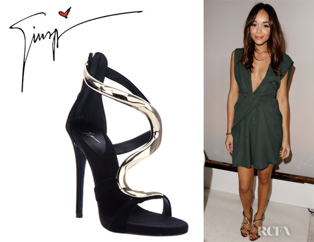 Ashley Madekwe's Giuseppe Zanotti Strappy Sandals
