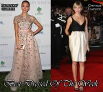 Best Dressed Of The Week - Jessica Alba In Valentino & Cameron Diaz In Stella McCartney