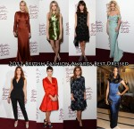 Who Was Your Best Dressed At The 2012 British Fashion Awards?
