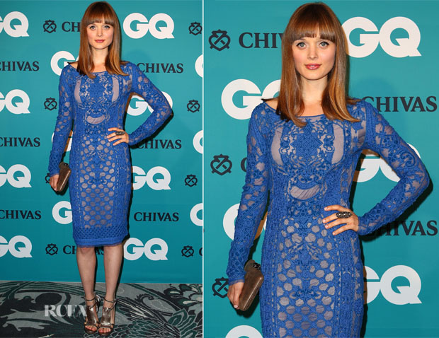 Bella Heathcote In Emilio Pucci - GQ Men of the Year Awards 2012