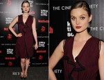 Bella Heathcote In Roksanda Ilincic - Killing Them Softly' New York Screening
