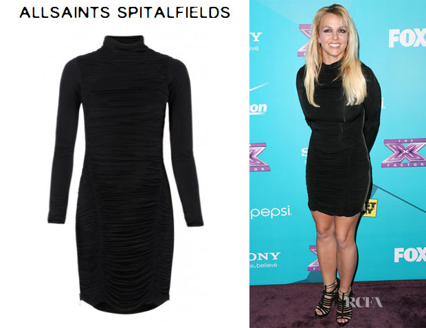 Britney Spears' AllSaints Barre Dress