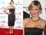 Cameron Diaz In Lanvin - TAG Heuer's 'A Night Under The Stars' Event