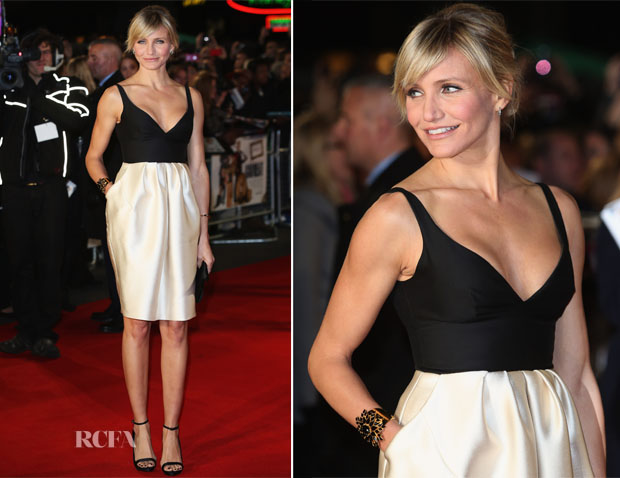 Cameron Diaz In Stella McCartney - 'Gambit' London Premiere