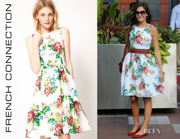Camilla Belle's French Connection Floral 50's Dress