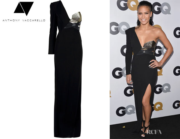 Cassie's Anthony Vaccarello Maxi Dress