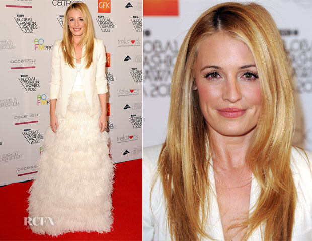 Cat Deeley In Charlie Brear - WGSN Global Fashion Awards