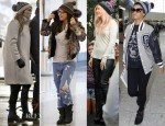 Celebrities Love Wool Pom-Pom Beanie Hats